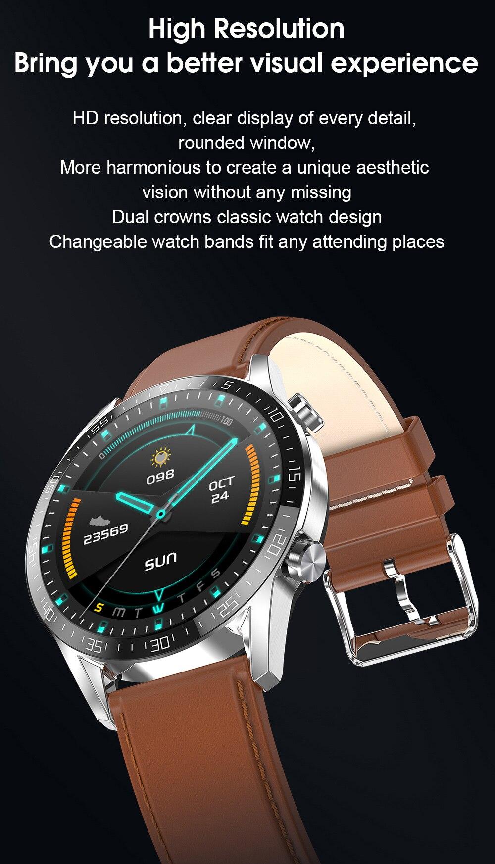 He7010298122c400284ce39b5007329eb4 IPbzhe Smart Watch Men Thermometer ECG Smart Watch IP68 Waterproof Blood Pressure Smartwatch Reloj Inteligente For Huawei Xiaomi