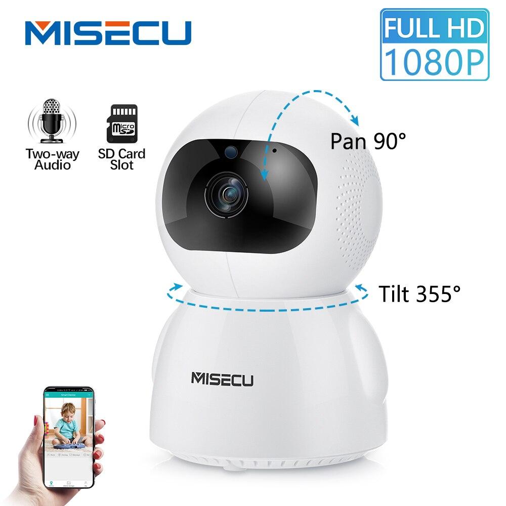 MISECU 1080P Sem Fio Câmera IP Rastreamento Automático Inteligente Home Security Vigilância CCTV Câmera De Rede Wifi 2MP Monitor Do Bebê