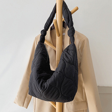 2020 Autumn Winter Shoulder Corssbody Bags for Women New Large Capacity Bag Zipper Fashion Wild Female Cotton Design Travel Bags
