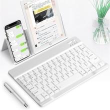 Ultra-Slim Bluetooth Wireless Keyboard For Iphone Ipad Andro