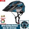 2019 corrida capacete de bicicleta com luz in-mold mtb estrada ciclismo capacete para homens mulheres ultraleve capacete esporte equipamentos de segurança 16