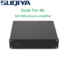 SUQIYA Dual TVV 46 full discrete phono MM phono MC phono MM/MC can switch HiFi audio amplifier