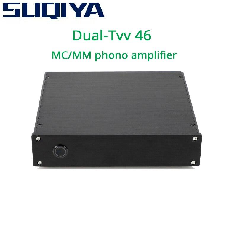 SUQIYA-Dual-TVV-46 pleine discrète phono MM phono MC phono MM/MC peut commuter l'amplificateur audio HiFi