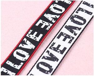 20 мм белый черный красный печатная лента с буквенным принтом Сделай Сам полосатая лента для смещения лента для тесьмы швейные принадлежнос...