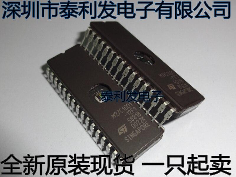 Новинка, 5 шт./лот M27C1001-12F1 M27C1001 27C1001 CDIP28 автомобиля чипы памяти однокристального