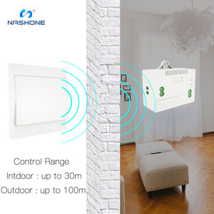 Image 3 - Light Switch Set Battery free wall switch Universal Breaker Wireless Remote Control 110V 220V Receiver for lamp electric device