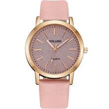 YOLAKO дамы Моды часы корейский стиль матовый циферблат с люминесцентными стрелками женские платья простые спортивные женские часы Релох Мухер