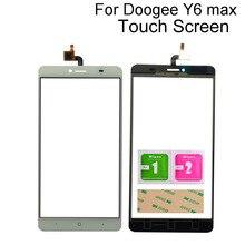 """6.5 """"タッチセンサーdoogee Y6最大タッチスクリーンデジタイザパネルセンサータッチスクリーンツール3メートルのり"""