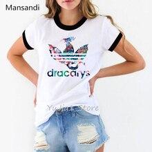 waterclolr Dracarys Tshirt femme Game Of Throne t shirt women tumblr clothes camiseta mujer tops summer 2019 female t-shirt