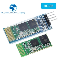 hc-06 HC 06 RF Wireless Bluetooth Transceiver Slave Module RS232 / TTL to UART converter and adapter for arduino