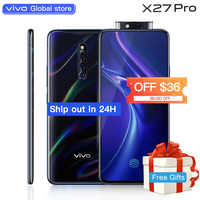 vivo X27Pro celular Cellphone 6.7-inch Screen Snapdragon710 Octa Core 8GB 256GB Fingerprint HiFi Elevating Camera Mobile Phone