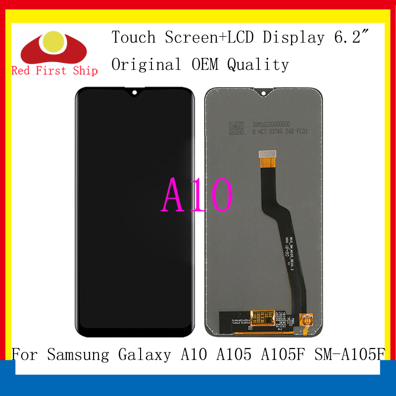 10Pcs lot Original For Samsung Galaxy A10 A105 A105F SM A105F LCD Display Touch Screen Digitizer Assembly Replacement A10 LCD in Mobile Phone LCD Screens from Cellphones Telecommunications
