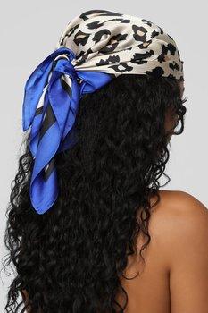AWAYTR Square Silk scarf 60*60cm Headband hairbands Hair Hoop Accessories For Women Girl Lady Head Neck Satin Scarf Handkerchief 2