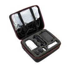 Estojo de transporte para drone, bolsa dura com alça de ombro para drone dji mavic mini, acessórios para controladores remotos