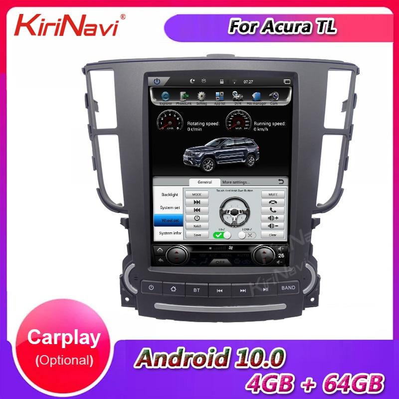 "KiriNavi 9.7"" Vertical Screen Tesla Style Android 10.0 Auto Radio Automotivo For Acura TL Car DVD Multimedia Player Stereo 4G BT"