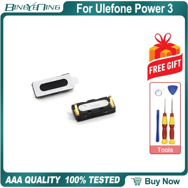 100% nouveau Original pour Ulefone Power 3 haut-parleur avant récepteur oreille écouteur réparation accessoires de rechange pièces téléphone accessoire