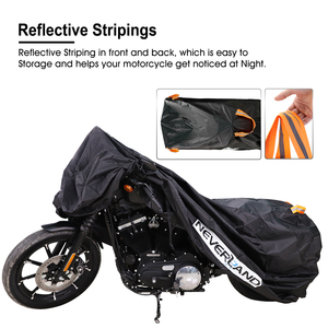 Image 3 - 210D High Quality Waterproof Outdoor Motorcycle Moto Cover Electric Bicycle Covers Motor Rain Coat Dust Suitable for All Motors