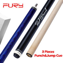 FURY Jump Break Cue EA bilard Punch & Jump kij bilardowy 55 ''58'' 13.5mm Tip Maple Ashwood Billar Break & Jump Cue Kit z prezentami(China)