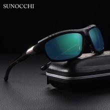 2019 Mens Polarized  Goggles Sports Driving Sunglasses UV400 Fishing Men Tactical Sun glasses Steampunk For Male