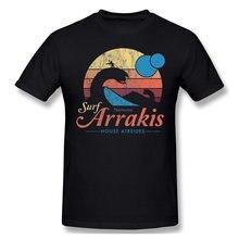 T-Shirt homme 100% coton, humoristique et Vintage, avec les films de science-fiction visitez Arrakis, Dune Paul Atreides, 6XL