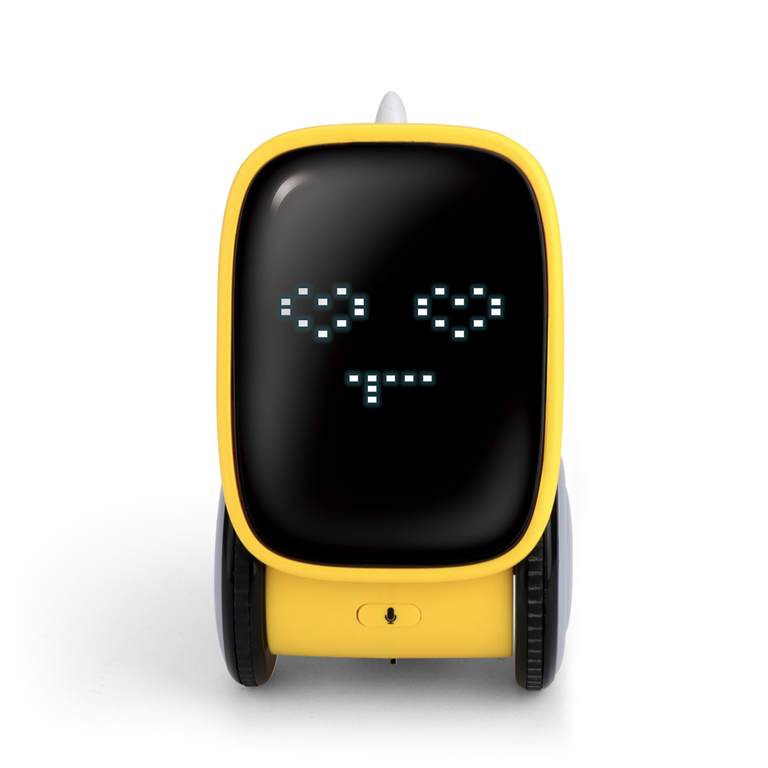 Smart Interactive Robot Gesture Voice Controlled Touch Sensor Voice Recording Robot Toy Gift - Yellow