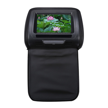 7 Inch Game Adjustable DVD Player Video HD Car Headrest LCD Screen Infrared Monitor USB Multifunction Speaker Zipper Cover