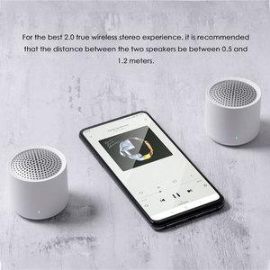Image 3 - Original Xiaomi Drahtlose Tragbare Bluetooth Lautsprecher 5,0 Musik Audio 2,0 TWS Stereo Sound Lautsprecher mit Mic Für iPhone ipad Tablet