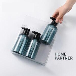 Image 2 - 3pcs Soap Dispenser Bottle Hand Sanitizer Bottle Cosmetics Shampoo Body Wash Lotion Bottle Outdoor Travel Tools 300ML/500ML