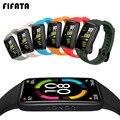 Мягкий силиконовый спортивный ремешок FIFATA для Huawei Honor Band 6, сменный ремешок для смарт-браслета, ремешок для часов Honor Band6