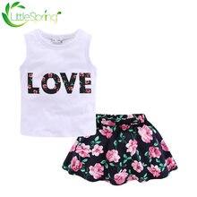 Littlespring/Одежда для маленьких девочек; Жилет без рукавов