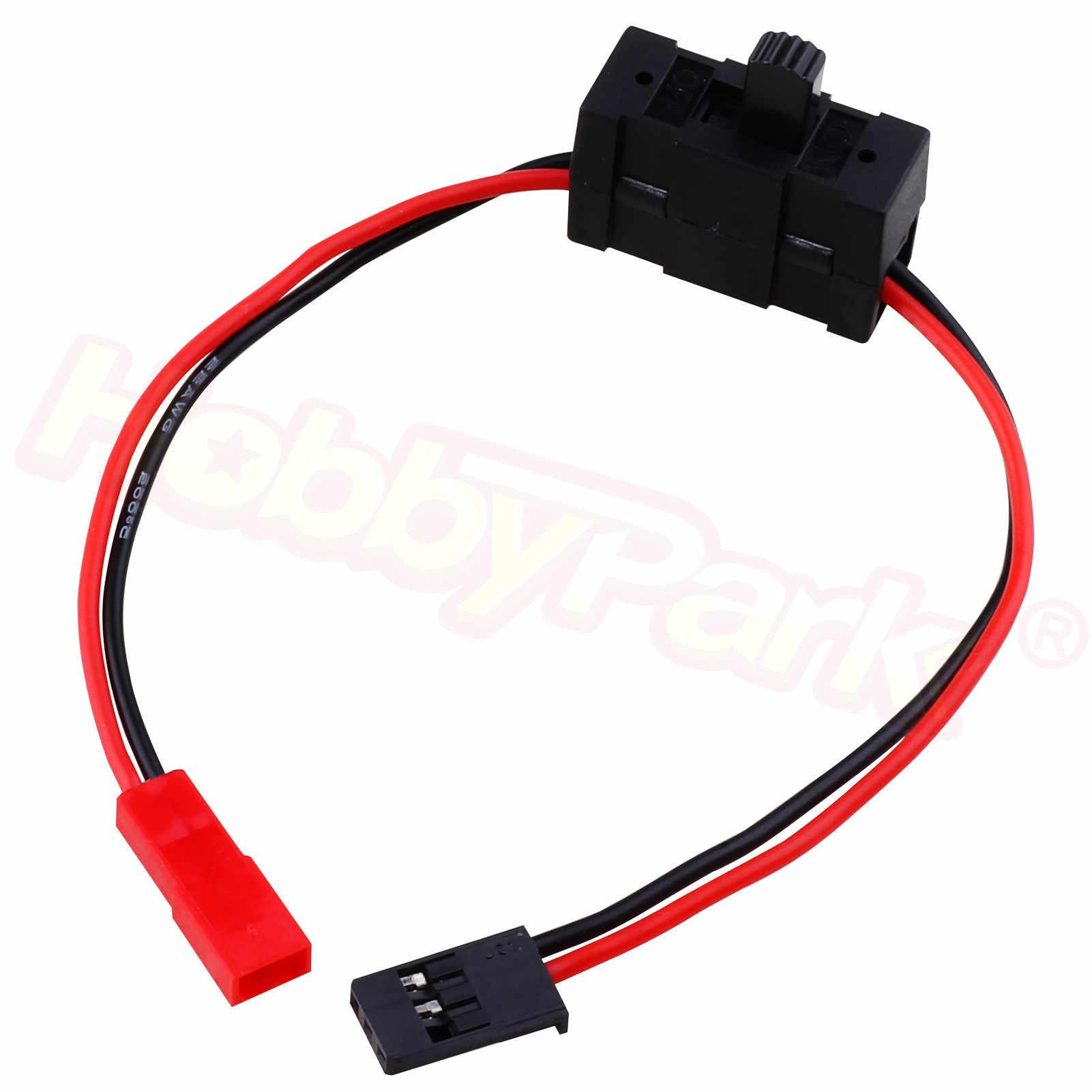 02050 HSP 1/10 части вкл/выкл JST разъем приемник переключатель 4WD Nitro power RC автомобиль