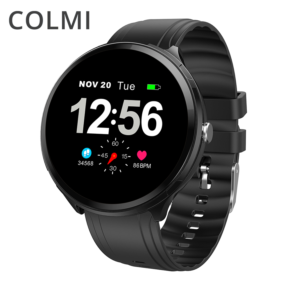 COLMI Smart Watch V12 plus Waterproof Bluetooth Heart Rate Vibration Multi-sports Mode Wrist Smartwatch for Android IOS Phone