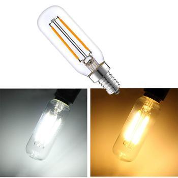 цена на 3w E14 LED Fridge Freezer Filament Light COB Dimmable Bulbs Lamp Cold / Warm White 220V