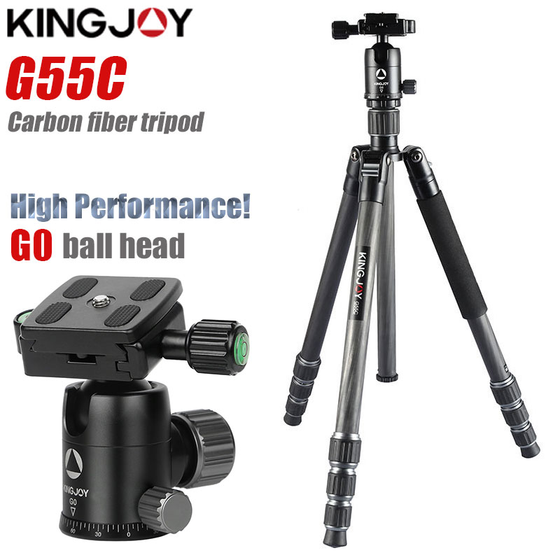 G55C Professional carbon fiber tripod for digital camera tripode Suitable for travel Top quality series camera stand 155cm max image