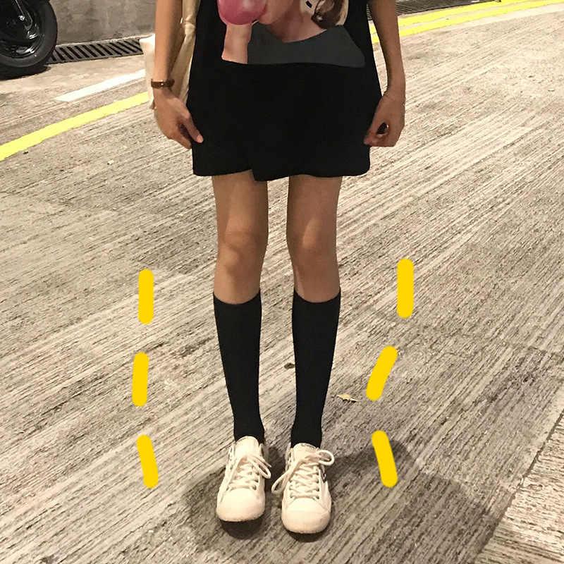 Sarı Zheng 2019 yaz kore tarzı Retro kolej tarzı zayıflama botları \ n bunch çorap tüp çorap uzun çorap çocuk PS0270