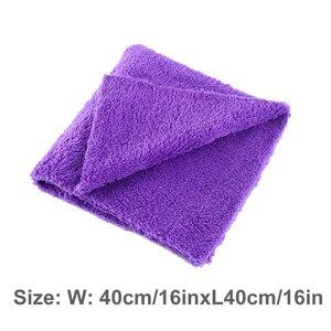 Image 5 - 40x40cm Extra Soft Car Wash Microfiber Towel Car Cleaning Drying Cloth Car Care Cloth Detailing Car WashTowel Never Scrat
