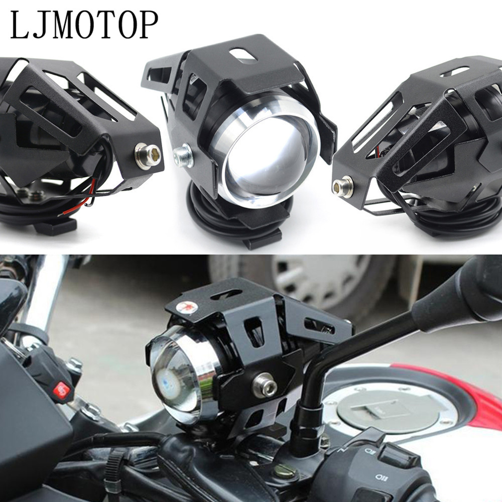 Motorcycle <font><b>LED</b></font> headlights U5 12V Decorative lamp Spotlight For BMW R1200GS R1200GS ADVENTURE R1200R <font><b>R1200RT</b></font> /SE R1200S image