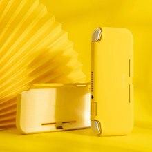 닌텐도 스위치 라이트에 대한 액체 실리콘 보호 케이스 색상 닌텐도 스위치 라이트에 대한 귀여운 커버 쉘 콘솔 쉘 Accessorie