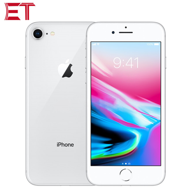 Galleria fotografica Global Version Apple iPhone 8 LTE Mobile Phone 2GB RAM 64GB/256GB ROM Apple A11 Bionic Hexa Core 4.7