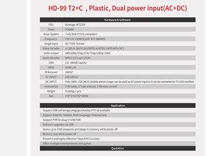Image 5 - DVB HD 99 T2 Receiver Satellite Wifi Free Digital TV Box DVB T2 DVBT2 Tuner DVB C IPTV M3u Youtube Russian Manual Set Top Box