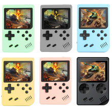 800 em 1 mini jogos handheld jogadores do jogo portátil retro console de vídeo menino 8 bit 3.0 Polegada tela lcd a cores gameboy