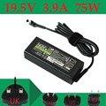 19,5 в а адаптер переменного тока зарядное устройство источник питания для Sony Vaio PCG-71211M VGP-AC19V34 PCG-71211V svesve141b11v