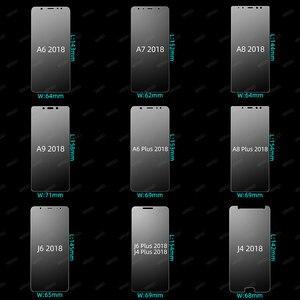 Image 3 - 強化ガラス三星銀河 A7 2018 A6 A8 J4 プラスガラススクリーンプロテクター J5 A5 2017 のためのサムスン A7 2018 J8 A9 J6