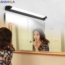 White Black Wall Sconce Led Bathroom Light Modern Make Up Led Mirror Light Bar Makeup Mirror Vanity Light for Bathroom Bedroom(China)