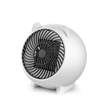 цена на 250W Electric Ceramic Space Heater Portable Fast Heating Air Fan for Office Home EU Plug