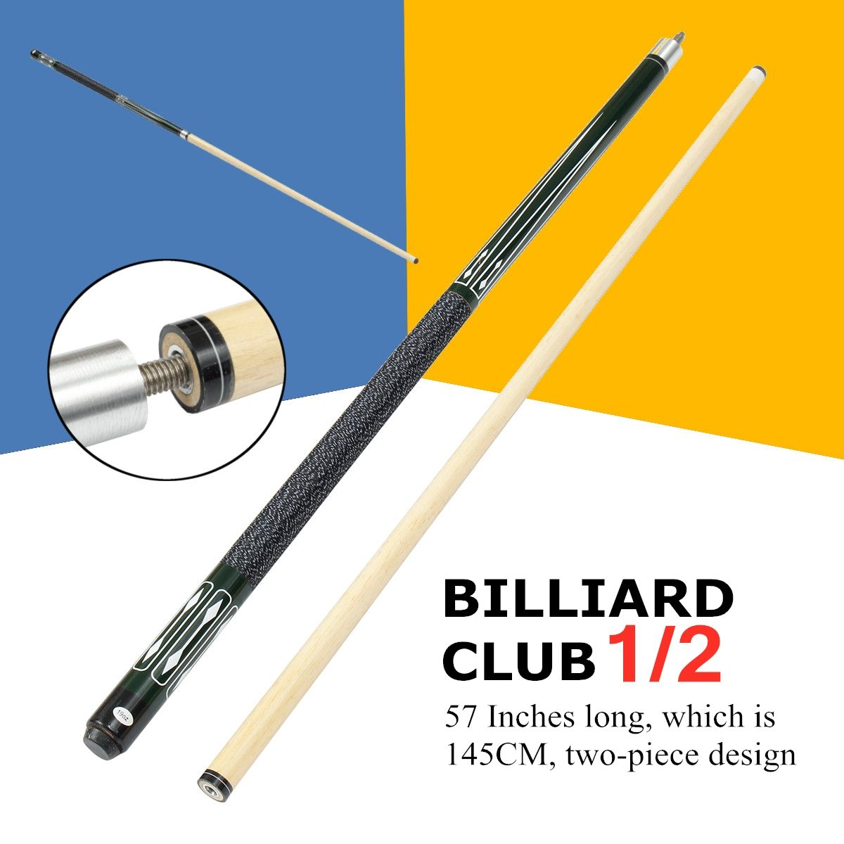 Billiard-Cue Pool-Cue-Stick Billiard-Shaft Wooden Pool-Cue-Tips Billiard House Bar Entertainment Snooker Accessories