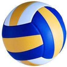 Balle de Volley-ball de formation de Match en cuir d'unité centrale de Volley-ball standard molle