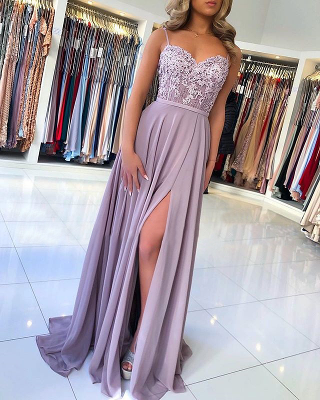 gown de fiesta Spaghetti Straps Sweetheart Long   Evening   Gown 2019   dresses   woman party night lace sleeveless long   evening     dress