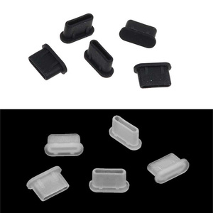 Новый 5 шт пылезащитный колпачок Джек зарядное устройство разъем Type-C порт Анти-пыль для Мобильный телефон FIF66