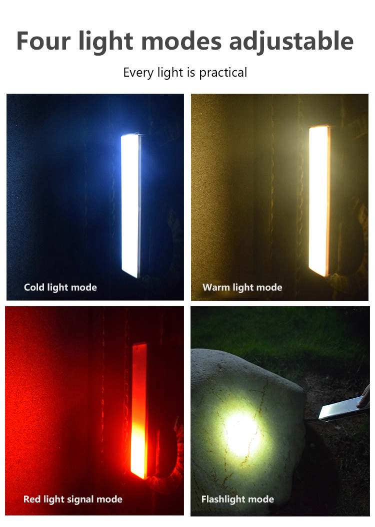 Luz portátil para área externa, à prova
